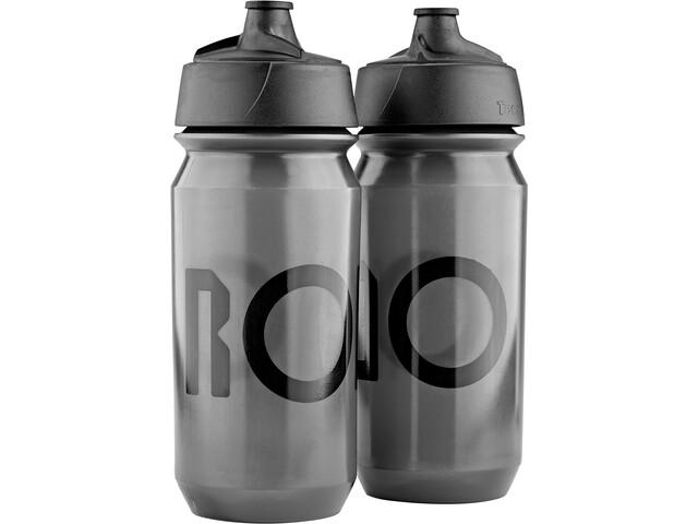 RONDO Rondo Bidon 500ml 2 Pièces, clear/black